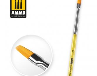 Синтетическая круглая кисть 10 / 10 Synthetic Flat Brush