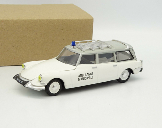 CITROEN ID Break Ambulance Minicipale, white