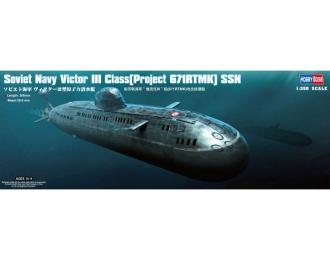 Сборная модель Подводная лодка Soviet Navy Victor III Class (Project 671RTMK) SSN