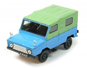 (Уценка!) ЛУАЗ 969А Волынь, Автолегенды СССР 70, голубой / зеленый