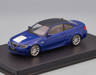 """BMW M3 Coupe (E92) """"Sehen, was morgen bewegt IAA"""", blue"""