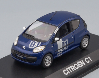 CITROEN C1 Chrono (2007), blue damas