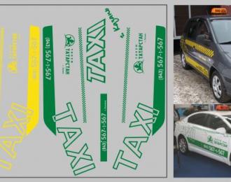 Набор декалей Такси Татарстана (100х70)