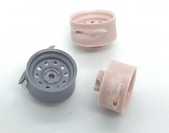(Уценка!) Набор дисков Off-Road Wheels (с круглыми отверстиями) для внедорожников, 5 шт