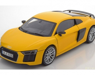Audi R8 Coupe V10 2015 (yellow)
