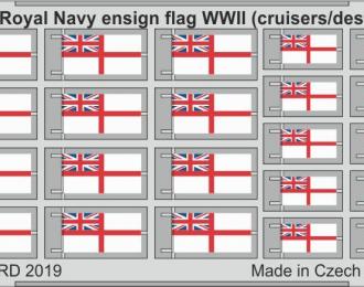 Набор фототралвения Флаг Королевского Флота Второй Мировой (крейсеры/эсминцы) СТАЛЬ
