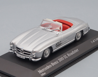 MERCEDES-BENZ 300 SL Roadster (1959), silver
