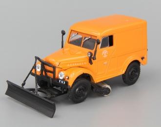 Горький-69 Т-З уборщик улиц, Автомобиль на службе 7, оранжевый