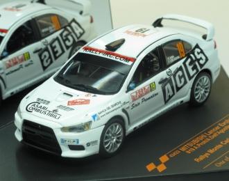 MITSUBISHI Lancer Evo.X 19 Rally Monte-Carlo (2009), white