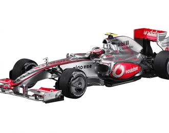 MERCEDES-BENZ Vodafone McLaren MP4-24 Kovalainen (2009), silver / red