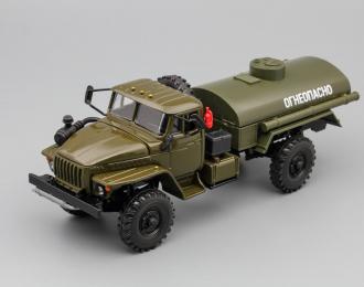 Уральский грузовик 43206 Топливозаправщик, хаки