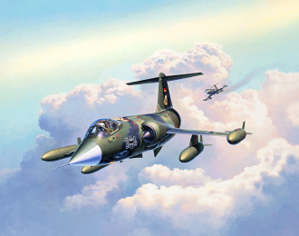 Сборная модель Истребитель Lockheed Martin F-104G Starfighter