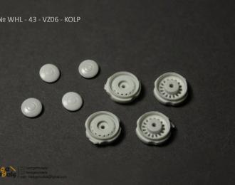 Комплект дисков для ВАЗ 2106 (с колпаками), 4 шт
