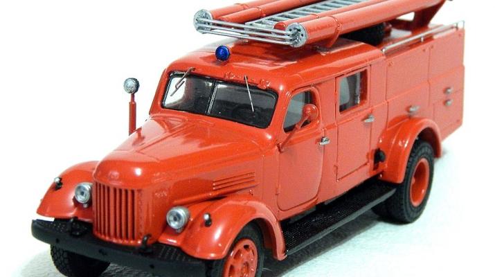 Набор для конверсии Пожарный автомобиль ПМЗ-18А (ZIL-164)
