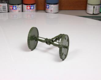 Передок (сплошные колёса) Б-4, БР-2, БР-5, Б4-М (чистый, неповоротная ось)