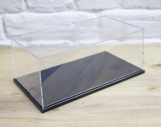 Прозрачный бокс C 240х130х110мм с зеркальной подставкой