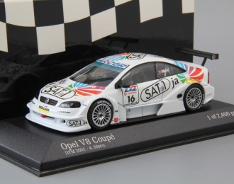 OPEL V8 Coupe DTM Opel Euroteam A. Menu #16 (2001), white