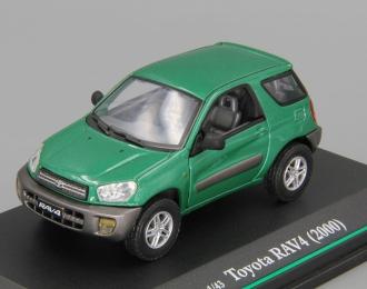 TOYOTA RAV4 (2000), green