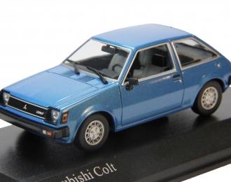 MITSUBISHI Colt (1978), blue metallic