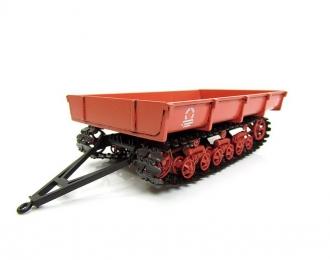 МТП-24Б прицеп гусеничный, красный