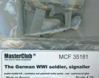 Немецкий солдат, связист. Первая Мировая Война