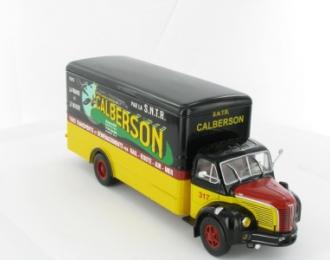 BERLIET GLR (France - 1956), серия Camions DAutrefois 1, желто-красный