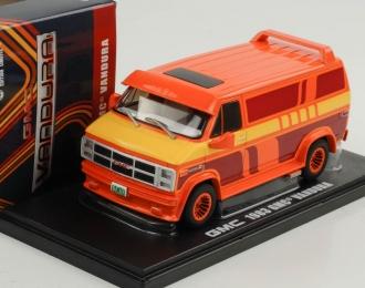 GMC Vandura Custom (фургон) 1983 Orange with Custom Graphics