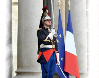 Сборная модель Фигура, Капрал кавалерийского полка Республиканской гвардии Франции