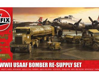 Сборная модель WWII USAAF 8th Air Force Bomber Resupply Set