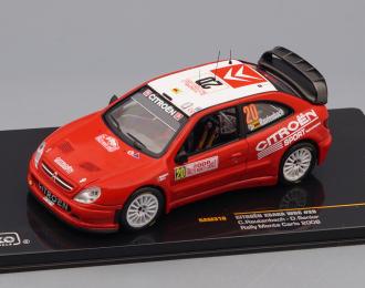 CITROEN XSARA #20 C.Rautenbach - D.Senior Rally Monte Carlo (2008), red