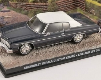 "CHEVROLET Impala Custom Coupe - James Bond 007 ""Live And Let Die"""