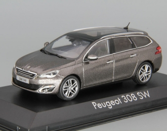 PEUGEOT 308 SW (2014), brown