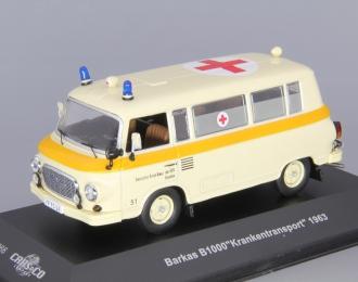 BARKAS B1000 Krankentransport Deutsches Rotes Kreuz der DDR (1963), beige
