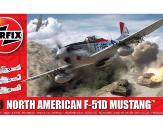 Сборная модель Самолет North American F-51D Mustang