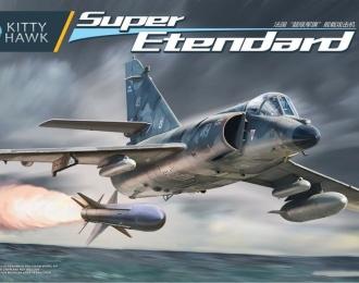 Сборная модель Французский палубный штурмовик Dassault-Breguet Super Etendard