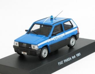 FIAT Panda 4x4 (1991), blue / white