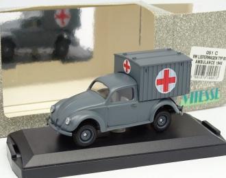 VOLKSWAGEN Typ 83 Ambulance Military 1945