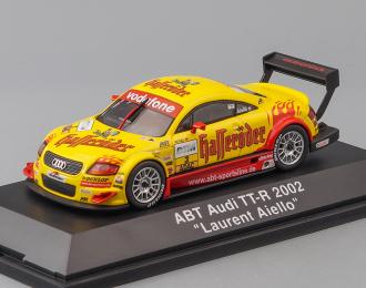 """ABT AUDI TT-R """"Laurent Aiello"""" #3 (2002), yellow / red"""