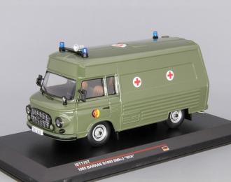 "BARKAS B1000 SMH-3 ""Military Ambulance"" (1985), green"