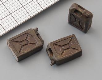 Канистра 20 л (окрашенная), комплект 3 шт.