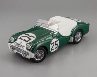 TRIUMPH TR3A  Nr.25 1959 LM, green / white