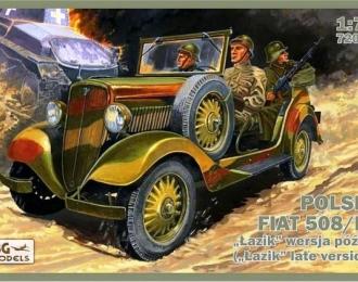 Сборная модель Polski FIAT 508/III Lazik late version