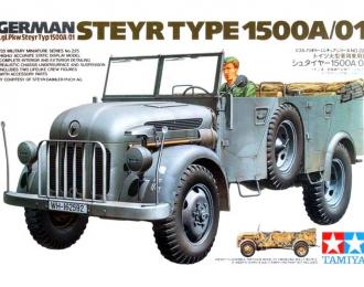 Сборная модель Автомобиль Steyr Type 1500А/01 с 2-мя фигурами