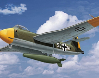 Сборная модель lohm & Voss BV P178 Jet Bomber w/BT700