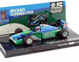 Benetton Fold B194, Michael Schumacher, - DEMONSTRATION RUN - BELGIAN GP 2017