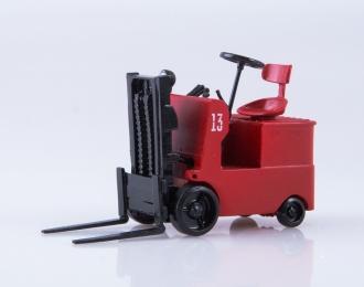 Погрузчик аккумуляторный ЭП-4004, красный
