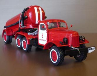 ЗИL-157КВ с пожарной цистерной на базе ТЦ-4