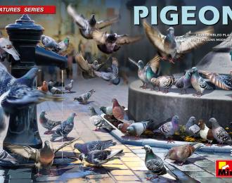 Сборная модель Фигурки голубей (PIGEONS)