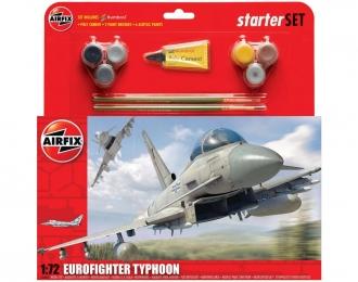 Сборная модель Европейский многоцелевой истребитель Eurofighter Typhoon EF-2000 (Подарочный набор)