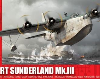 Сборная модель Британская летающая лодка Short Sunderland Mk.III